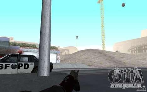 Nouvelle animation fusils de tir pour GTA San Andreas deuxième écran