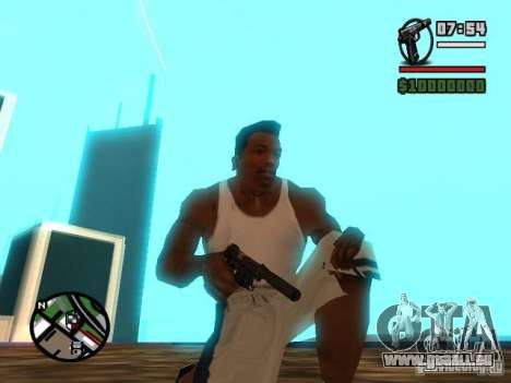 Gangster Weapon Pack für GTA San Andreas zweiten Screenshot