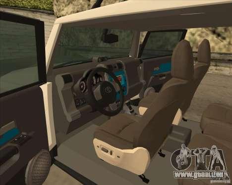 Toyota FJ Cruiser für GTA San Andreas Seitenansicht