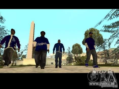 Piru Street Crips pour GTA San Andreas onzième écran