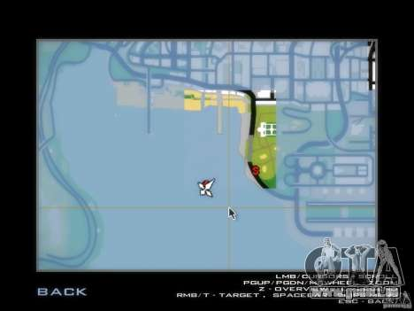 Luxville-carte de Point Blank pour GTA San Andreas
