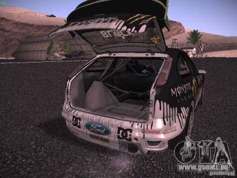 Ford Focus RS Monster Energy für GTA San Andreas Seitenansicht