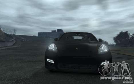 Porsche Panamera Turbo für GTA 4 Seitenansicht