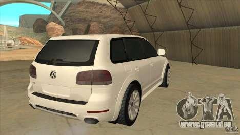 Volkswagen Touareg R50 für GTA San Andreas rechten Ansicht
