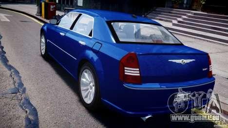 Chrysler 300C SRT8 Tuning pour GTA 4 Vue arrière de la gauche