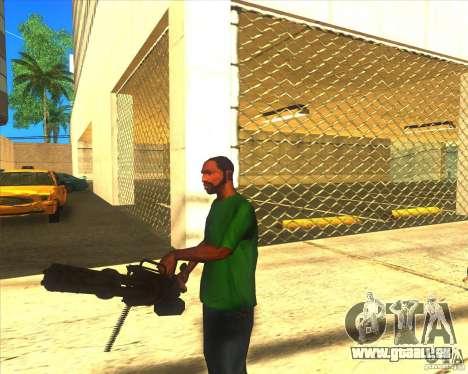 M134 minigan für GTA San Andreas