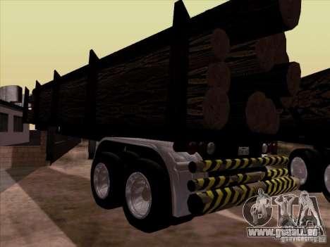 Kenworth K100 Aerodyne-trailer für GTA San Andreas