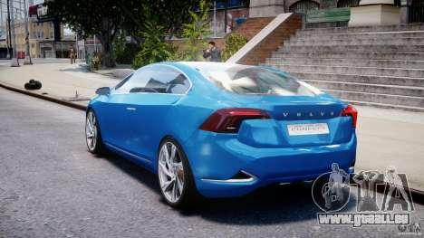 Volvo S60 Concept für GTA 4 hinten links Ansicht
