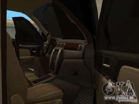 Chevrolet Silverado 3500 pour GTA San Andreas vue de droite