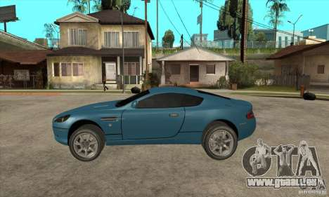 Aston Martin DB9 de NFS MW pour GTA San Andreas laissé vue