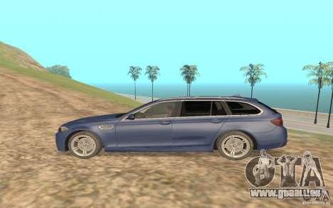 BMW M5 F11 Touring pour GTA San Andreas vue de droite