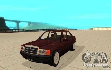 Mercedes-Benz 190 E (W201) 1984 version 1.0 für GTA San Andreas