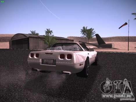 Chevrolet Corvette Grand Sport für GTA San Andreas rechten Ansicht