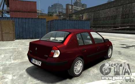 Renault Clio 1.4L für GTA 4 rechte Ansicht