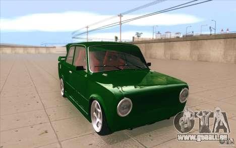 VAZ 2101 Lada Sport für GTA San Andreas Rückansicht
