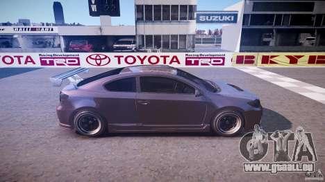Toyota Scion TC 2.4 Tuning Edition für GTA 4 Seitenansicht