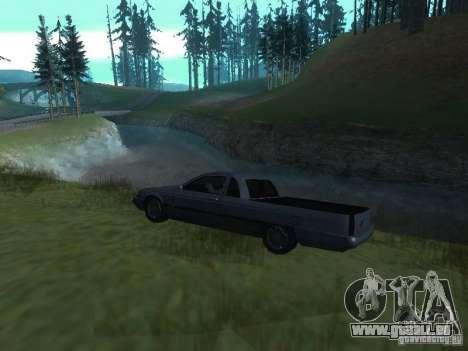Nouveau Picador pour GTA San Andreas vue de droite