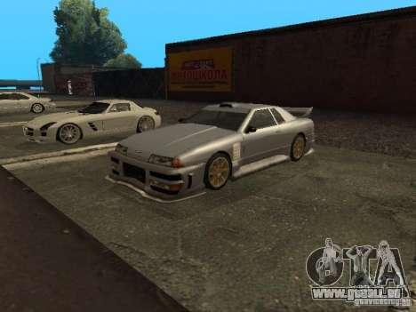 Élégie standard pour GTA San Andreas sur la vue arrière gauche