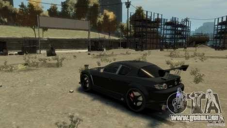 MAZDA RX8 für GTA 4 rechte Ansicht