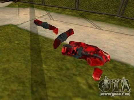 Massacre à la tronçonneuse v. 2.0 pour GTA San Andreas troisième écran