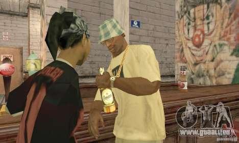 Bier SLAVUTITSCH für GTA San Andreas zweiten Screenshot