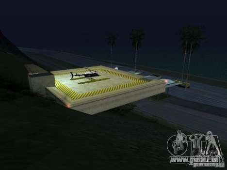 Polizeiposten 2 für GTA San Andreas her Screenshot