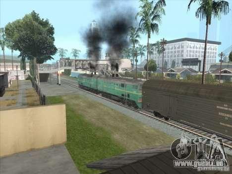 2te10v-3390 pour GTA San Andreas laissé vue