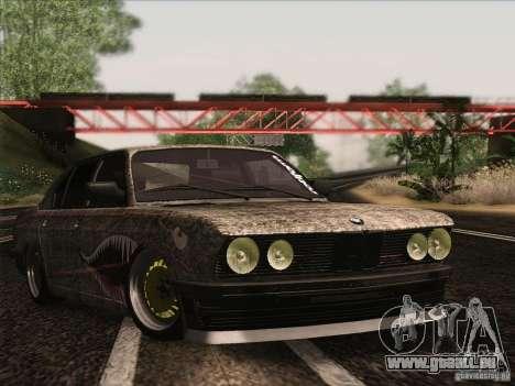 BMW E28 525E RatStyle pour GTA San Andreas