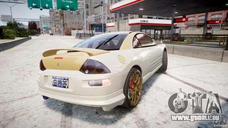Mitsubishi Eclipse GTS Coupe für GTA 4 hinten links Ansicht