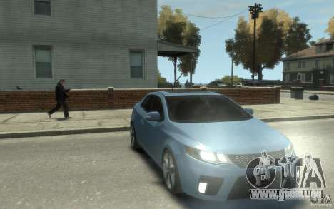 Kia Forte Koup SX für GTA 4 Rückansicht