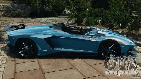 Lamborghini Aventador J 2012 v1.2 für GTA 4 linke Ansicht