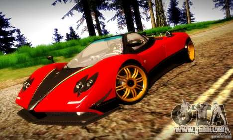 Pagani Zonda Tricolore V2 für GTA San Andreas