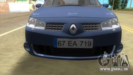 Renault Megane Sport für GTA Vice City linke Ansicht