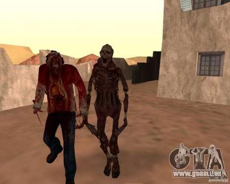 Zombie Half life 2 pour GTA San Andreas neuvième écran