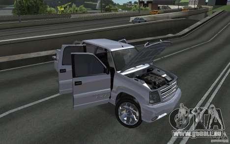 Cavalcade FXT von GTA 4 für GTA San Andreas rechten Ansicht