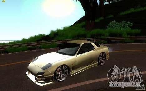 Mazda Rx7 C-West pour GTA San Andreas
