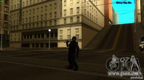 SWAT Officer für GTA San Andreas dritten Screenshot