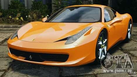 Ferrari 458 Italia 2010 v3.0 für GTA 4