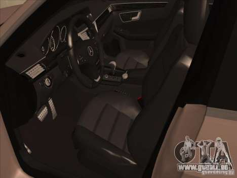 Mercedes-Benz E63 AMG Black Series Tune 2011 für GTA San Andreas Rückansicht