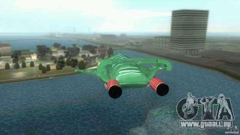 ThunderBird 2 pour une vue GTA Vice City de la droite