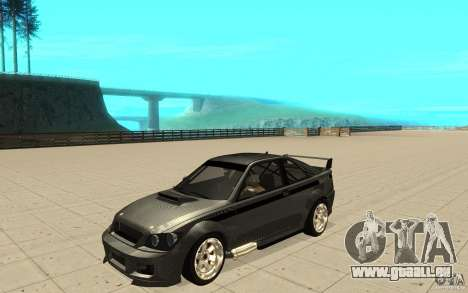 GTA IV Sultan RS FINAL pour GTA San Andreas vue intérieure