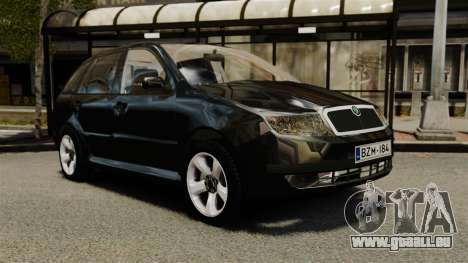 Skoda Fabia Combi Unmarked ELS pour GTA 4