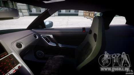 Nissan GT-R R35 2010 v1.3 pour GTA 4 Vue arrière