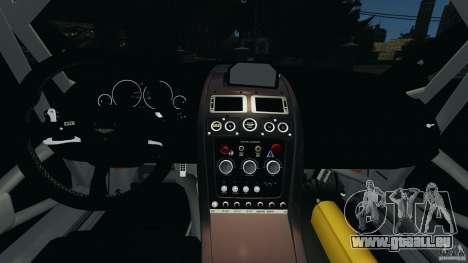 Aston Martin V12 Zagato 2011 v1.0 pour GTA 4 Vue arrière