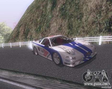 Honda NSX Japan Drift für GTA San Andreas Motor