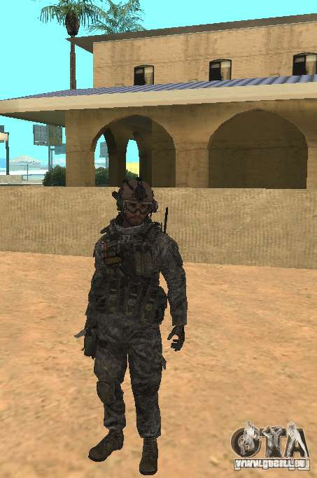 USA Army Ranger pour GTA San Andreas
