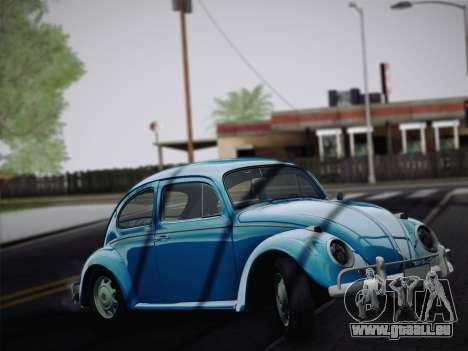 Volkswagen Beetle 1967 V.1 für GTA San Andreas linke Ansicht