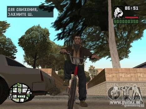 Niko Bellic für GTA San Andreas sechsten Screenshot
