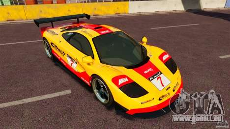 McLaren F1 für GTA 4 linke Ansicht