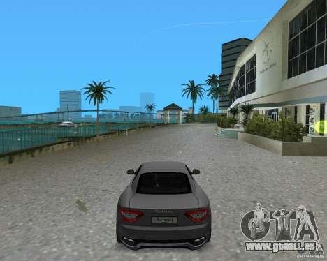 Maserati  GranTurismo pour une vue GTA Vice City de la gauche